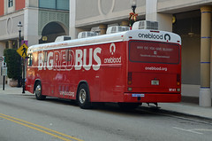 Big Red Bus M141 (Emergency_Vehicles) Tags: big red bus m141 one blood west palm beach florida