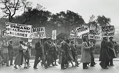 Demanding equal rights: 1933 (washington_area_spark) Tags: marching public demonstration racism white supremacy washington dc scottsboro boys march rally house protest capitol african american black history 1933 freedom lynching execution communist party angelo herndon equality