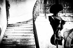 Giger - tra genio e follia (elena.barsottelli) Tags: swizerland svizzera swiss hrgiger alien museo museum bw biancoenero contrasto contrast genius follia art arte scultura giger gruyeres
