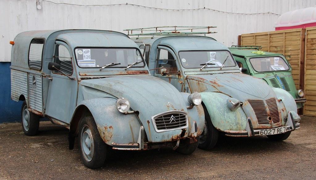 2cv camionnette 1969