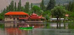 shangrila resort , skardu , pakistan (TARIQ HAMEED SULEMANI) Tags: travel summer lake tourism colors trekking canon lakes shangrila sensational tariq shangrilaresort skardu supershot concordians sulemani tariqhameedsulemani