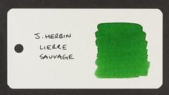 J. Herbin Lierre Sauvage - Word Card