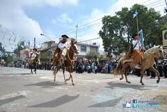 Desfile Gaucho 19 de Abril 2011 (jaramillosergiofotos) Tags: aniversario de banda caballos san desfile salvador jujuy gaucho fundacion paisanas 19deabril
