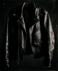 2nd skin of youth (wolfy138) Tags: stilllife leather oldstyle jacket aged