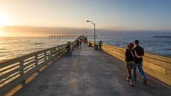 (mikper) Tags: california sunset people usa walking evening pier sandiego oceanbeach kalifornien pir