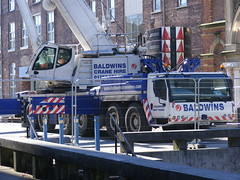 3672 - Baldwins Crane Hire, Liebherr - 075 (Call the Cops 999) Tags: road uk england plant west london manchester construction britain crane united great north picadilly kingdom cranes vehicles gb vehicle heavy hire faa baldwins lk12 liebherr wwwbaldwinscranehirecom