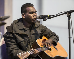 Gurrumul Of Australia at Jazz Fest 2015, Day 5, May 1