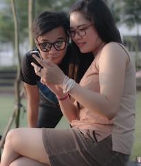 "Me & My Lovely ""Gita"" (Super Kimberly) Tags: indonesia samsung serpong sdc tangerang nx300"