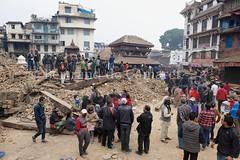 Earthquake,Kathmandu (Bertrand de Camaret) Tags: nepal architecture temple earthquake asia destruction ngc brique kathmandu asie nationalgeographic destroy seisme katmandou kasthamandap tremblementdeterre bertranddecamaret 25april2015