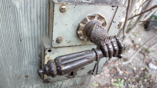 Door handle, Meersburg castle
