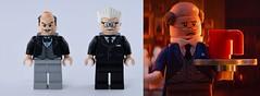 Alfred Pennyworth (Alex THELEGOFAN) Tags: lego alfred pennyworth 7783 the batcave 76032 classic tv series batman movie super heroes dc comics