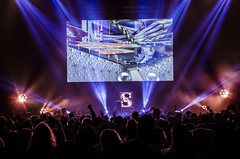Cinema Ball Night (elweydelasfotos) Tags: party show panoramic fullhouse lights enjoy happy lifestyle night life live concert musician goldroom