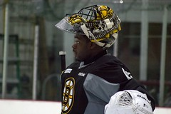 Malcolm Subban (Odie M) Tags: boston wilmington ristucciamemorialarena bostonbruins developmentcamp rookies 2016developmentcamp nhl hockey icehockey teamsport sport malcolmsubban goalie