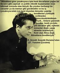 """""""Kent olan Atina deil, Atinallarn kendileriydi.""""  H. Arendt   #athens #greek #atina #yunan #arendt #politics #politika (C. Cengiz evik) Tags: greek arendt athens politika politics yunan atina"""