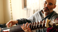 Shooting for the Rudra Veena Documentary by Rajesh Bhatia and his Team (Carsten Wicke) Tags: rudra veena documentary rajesh bhatia carsten wicke