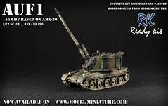 AuF1 maquette militaire  l'chelle 1/72 (Model-Miniature / Military-Photo-Report) Tags: scale painted models vab mounted ready kit saad 13 diorama militaire 172 vitrine 120mm maquette transparente chelle t20 talha mortier auf1 t2013 qaswa alqaswa