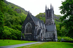 Kylemore Gothic Church (KjdOR) Tags: abbey kylemore