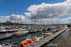 Lymington Marina (Conan500) Tags: canon 60d 1585 lymington hampshire coast sunny sunshine boats sea
