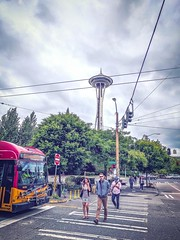 This Is Needle - Seattle, Washington (, ) (dlau Photography) Tags: seattle washington   spaceneedle      travel tourist vacation visitor people lifestyle life style sightseeing   trip   local   city  urban tour weather   outdoor building   soe astoundingimage