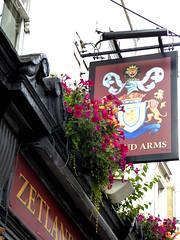 Zetland Arms (Draopsnai) Tags: zetlandarms pub pubsign oldbromptonroad kensingtonandchelsea kensington