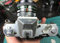 Nikkormat FT2 before cleaning (orzalana69) Tags: nikkormat ft2 35mm slr circa 1975 made japan
