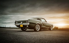 68' Ford Mustang Fastback (KevHaworthPhotography) Tags: classic ford car back muscle fast automotive american mustang kev v8 haworth