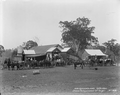 Cheese factory, Lowood Co. Yangan. No 406, 1899 (Queensland State Archives) Tags: queensland qsa archive horse horses australia cheese dairy milk butter lowood 1890s