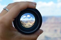 The Grand Canyon, Arizona (mariahnmatarazzo) Tags: perspective grandcanyon thegrandcanyon soo sooc fisheye fisheyelens lens nikon nikkor nikkorlens nikond7000 outside outdoors arizona macro beautiful sunny sun summer summertime
