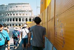 Rome (Pilar Rose Timpane) Tags: 35 mm kodak portra roma rome eternal city vatican musei vaticani st peters basilica