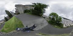 Schloss Eisenbach Panorama 160731 (Bianchista) Tags: 2016 360panorama ausflug bianchista eisenbach juli kugelpanorama lauterbach panorama riedesel schloss vogelsberg