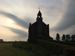 Dutch Reformed Church (1869) (darth_sweder) Tags: christianity christendom christ christus church kerk protestant cross jesus spiritual religion religie religious christen god heaven sky 1869 summer clouds wolken zomeravond homoet overbetuwe
