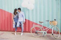 Bicicleta romntica (kinojam) Tags: retrato portrait pareja couple dos bicicleta bicycle amor love gente people kino kinojam canon canon6d