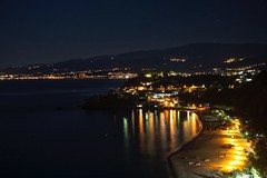 Night Lights  (alessandrociacci1) Tags: photo beautiful beach sea italia calabria catanzaro baiadicaminia night
