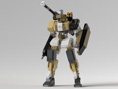 Gunslinger (KANICHUGA) Tags: mecha mech lego military robot moc