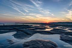 Lido Beach Sunset (Nikographer [Jon]) Tags: lidobeach ny new york beach sunset nikographer nikon 20160625d810033047 d810 hdr landscape water sand atlantic ocean sky summer june jun 2016