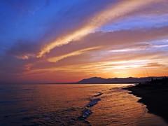Reflejos (Antonio Chacon) Tags: andalucia atardecer costadelsol marbella mlaga mar mediterrneo espaa spain sunset