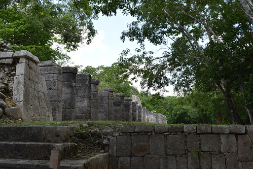 Pillars, Chichen Itza