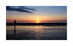 Crosby Beach Sunset (creativeimages2) Tags: crosby crosbybeach creativeimages creativeimagescraigdennett creativeimagesnorthwest craigdennett sunset