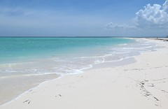 Punta arena (raquelpastor) Tags: cayo cayolevisa levisa pinardelro palmarubia beach paradise paraso playa arenablanca virgen cuba travelling backpackers mochileros experience turismo livestyle