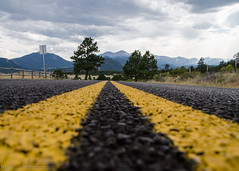 And the Beat Goes On (DancingTerrapin) Tags: rockies rockymountain therockies colorado road driving transportation mountains overcast cloudy lines leadinglines roads rmnp rockymountains co august 2016 vacation travel asphalt peaks peak view scenic