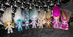 flash group pic (meimi132) Tags: zelfs zelf series6 cute adorable trolls chorusline angelhop frostelle howlie skylanna gargirl reindoe prettykit hightail