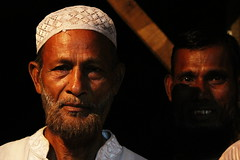 Village elder (I.M.W.) Tags: bangladesh srimangol sylhet village street night evening iftar ramadan dark lights man muslim islam hat skullcap taqiyah shadow portrait serious