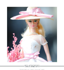 Garden party (thitipatify) Tags: silkstone barbie doll diorama dress model studio fashion magazine toy retro gown glamour glam figure