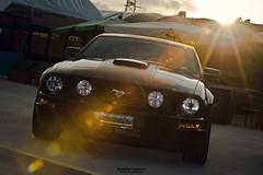 Ford Mustang (riccardo.ciardiello) Tags: ford mustang macchina auto veicolo musclecar american americancars horsepower hp sunset reflexes reflection