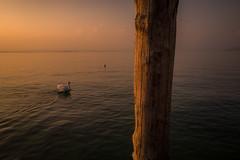 Peschiera del Garda (elzauer) Tags: peschieradelgarda lagodigarda garda veneto italy lake sunset it leicaq leica