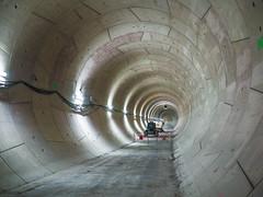 Tunnel vers la gare Saint-Lazare (y.caradec) Tags: jepratp 09182016 18septembre2016 180916 18092016 2016 clichystouen jep2016 journesdupatrimoine journesdupatrimoine2016 journeseuropennesdupatrimoine journeseuropennesdupatrimoine2016 mairiedesaintouen paris pontcardinet portedeclichy dmcgx7 europe france gx7 journeseuropennes ligne14 lumix lumixgx7 mtro mtroparisien parisien prolongement ratp septembre2016 souterrain travaux tunnel tunnelier ledefrance
