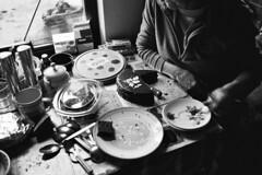 Sweet Tooth (Simon_Bates) Tags: monochrome chiaroscuro portrait 2010 leica m6 35mm summicron film trix kodak food nanny indoor lowlight timepasses memory cake birthday family