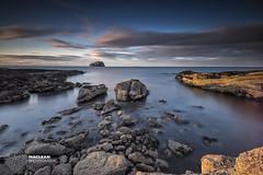 Bass Rock (MacLeanPhotographic) Tags: longexposure landscape island coast scotland ngc fujifilm bassrock eastlothian seacliffe xpro1 lee09ndgrad lee10xndbigstopper