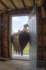 Knock Knock (scottnj) Tags: demo bucket smash construction crash debris demolition doorway remodel jerseyshore excavator teardown scottnj scottodonnellphotography hurricanesandy