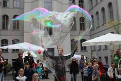 Seifenblasenfabrik Bubblebo Seifenblasenshow beim Tag der offenen Tür im Bundesministerium für Landwirtschaft 4
